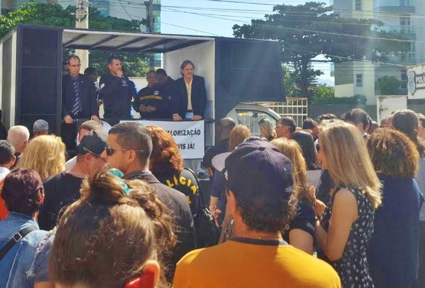 Em mais um dia histórico, Policias Civis se reúnem em nova Assembleia Geral Unificada