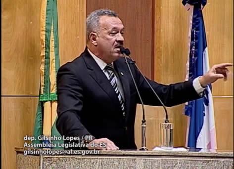 Confira o discurso do Deputado Gilsinho Lopes durante a Reunião da Comissão de Segurança da ALES