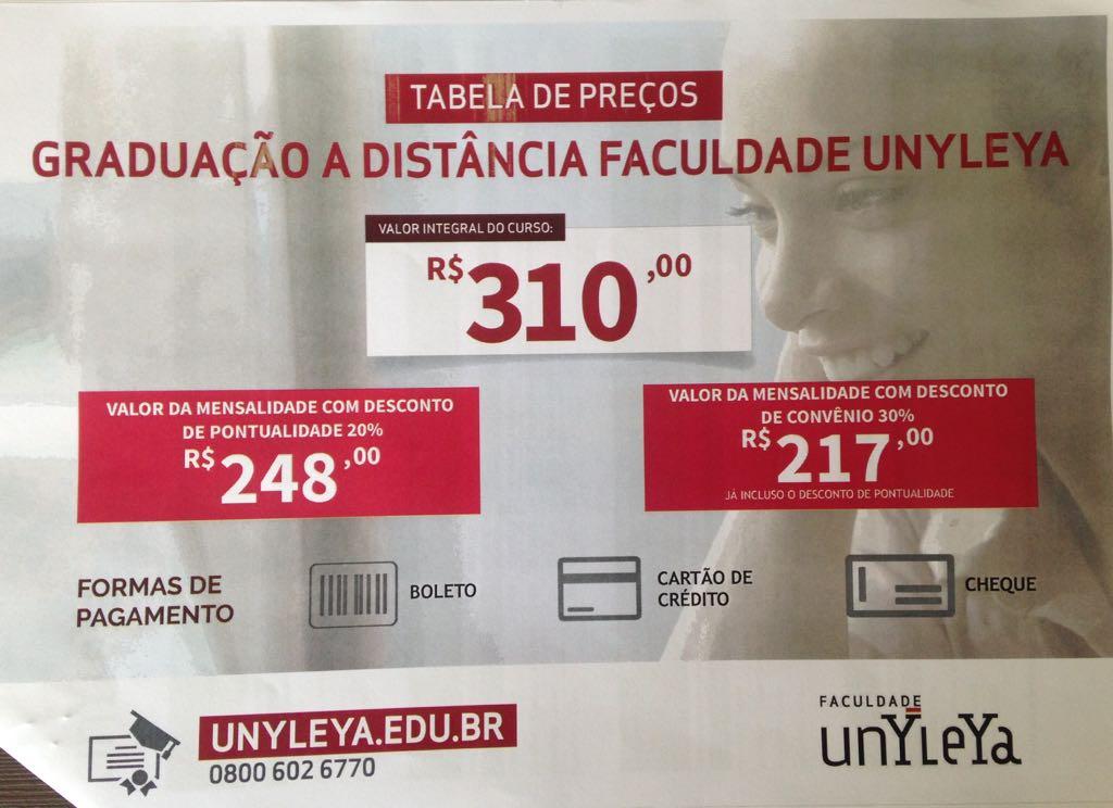 Graduação a distância Faculdade Unyleya