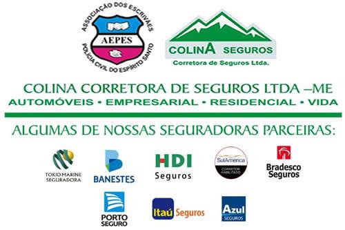 A AEPES celebrou convênio com a COLINA CORRETORA DE SEGUROS