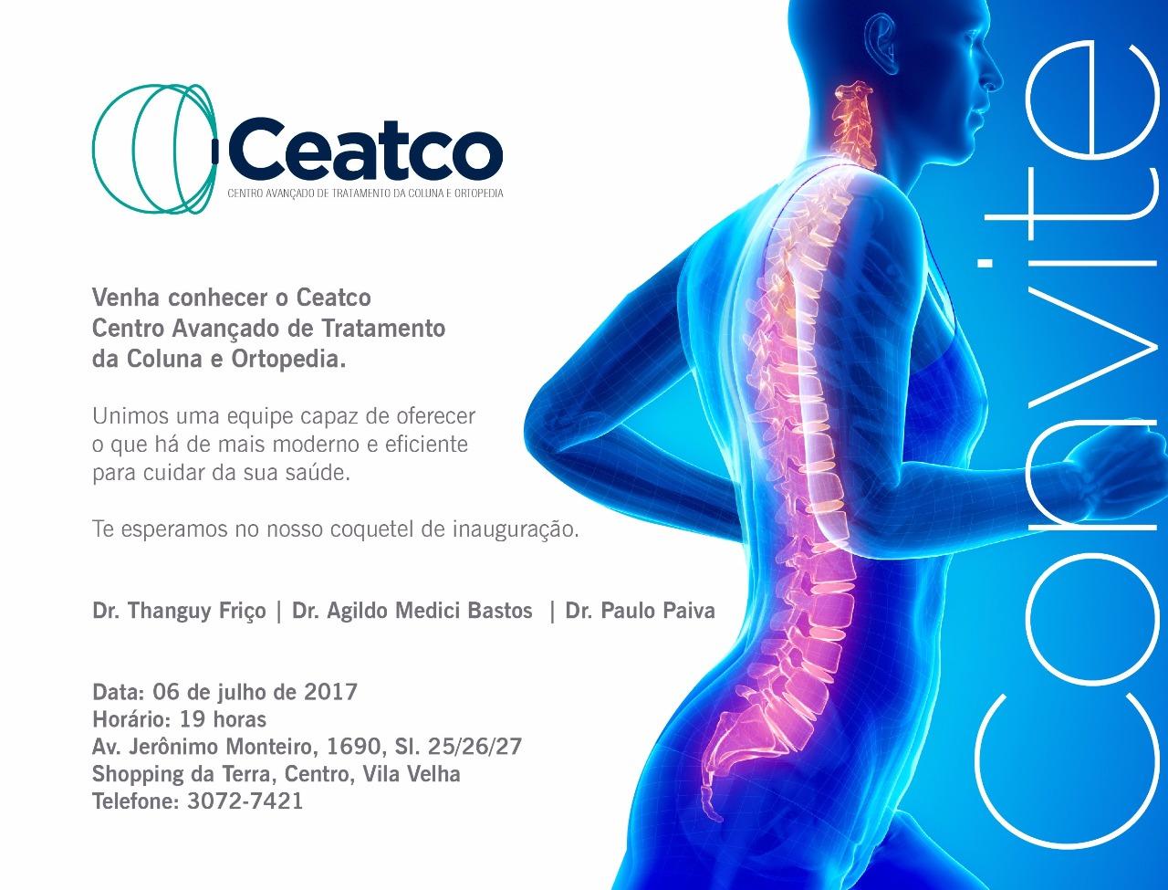 CEATCO - Centro Avançado de Tratamento da Coluna e Ortopedia