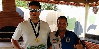 No alvo: escrivão da PCES Wilson Martinelli conquista dois primeiros lugares na Copa Brasil de Tiro Defensivo